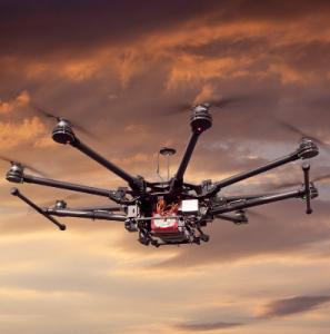 Drones, los guardianes del aire