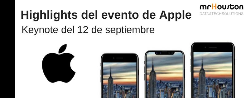 Qué destacar de la Keynote de Apple 2017