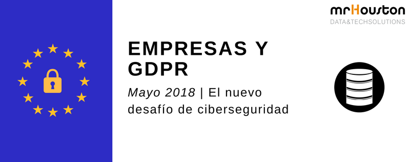 GDPR, protección de datos para empresas