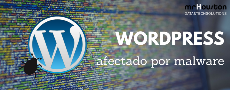Infección por malware en WordPress