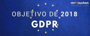 Propósito UE 2018 – GDPR