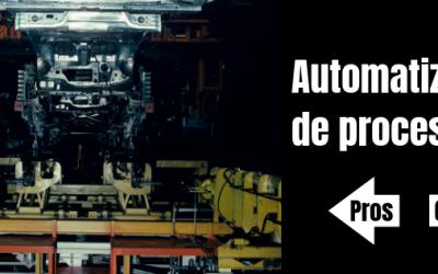 Pros y contras de la automatización de procesos