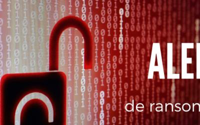Ataque ransomware a grandes empresas