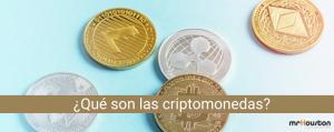 ¿Qué son las criptomonedas