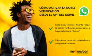 whatsapp doble autentificación
